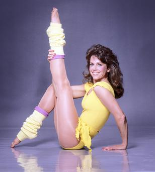 Image change: In the 1980s, Jane Fonda released a series of keep-fit videos