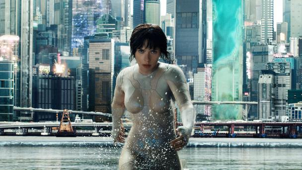 Warrior mode: Scarlett Johannson takes on another sci-fin role in Ghost in the Shell