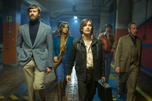 Young guns: Armie Hammer and Cillian Murphy in Free Fire