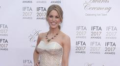 Dressed to impress: Amy Huberman at the IFTAs