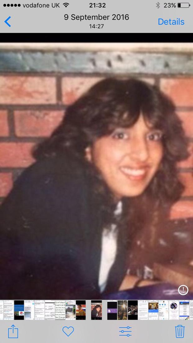 Jasvinder's sister Robina, who committed suicide to escape her arranged marriage - the reason Jasvinder established the charity