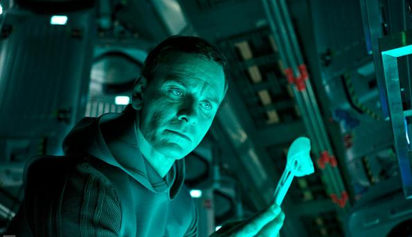 Paranoid android: Michael Fassbender in Alien: Covenant