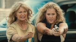 Holiday from hell: Goldie Hawn as Linda and Amy Schumer as Emily in Snatched