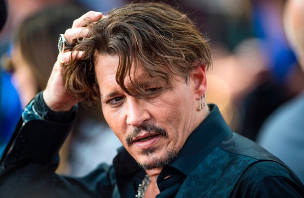 Out of his Depp: It was recently claimed that the actor had his lines fed to him through an earpiece