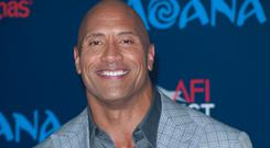 Wrestling with future plans: Dwayne Johnson has succeded in the film industry but may switch career again