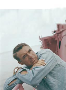 Actor Cary Grant (1904 - 1986) on the deck of a ship, circa 1955. (Photo by Archive Photos/Getty Images)
