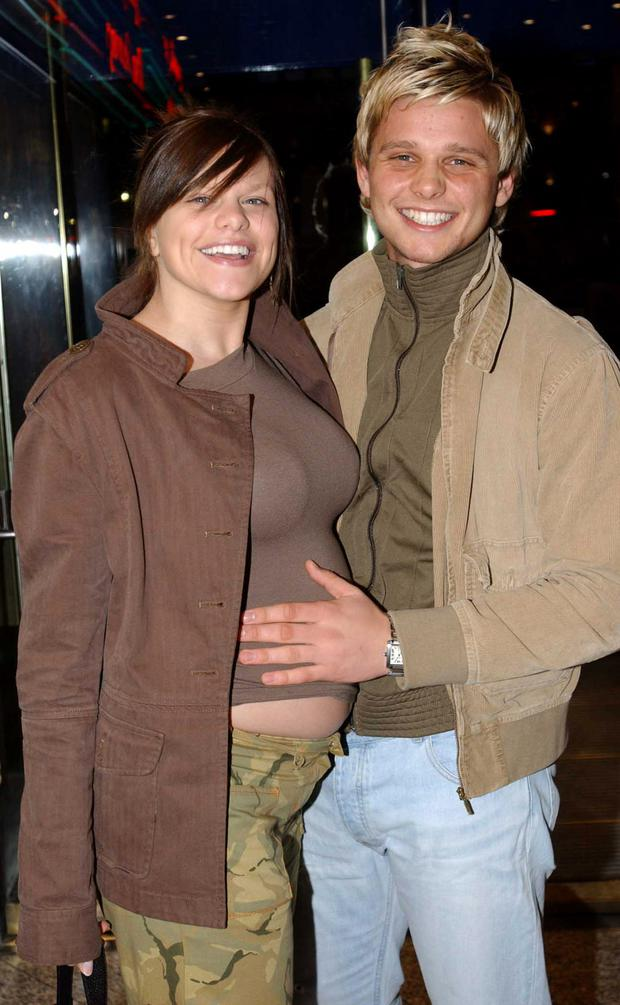 Jade Goody and Jeff Brazier