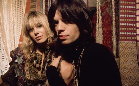 Muse: Anita Pallenberg with Mick Jagger in Performance