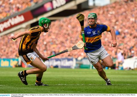 Clash of the ash: Kilkenny and Tipperary in the All-Ireland hurling final last year