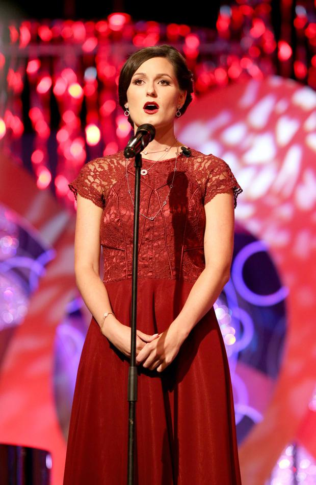The reigning Rose of Tralee Maggie McEldowney
