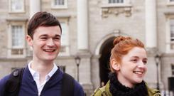 Sensitive approach: Shane Murray-Corcoran as Andy and Iseult Casey as Maggie in Twice Shy