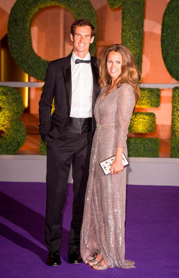 c0397facbb Andy and Kim Murray arriving at the Wimbledon Champions Dinner last year
