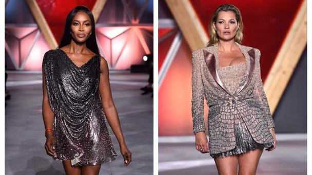 Naomi and Kate have been modelling since they were teenagers (Doug Peters/PA)