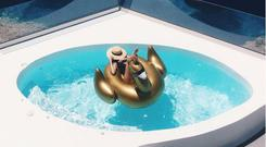 Hard yacht life: A holiday post from the Rich Kids of Instagram account