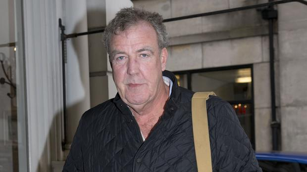 Jeremy Clarkson has been letting his hair down on holiday (Isabel Infantes/PA)