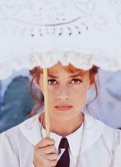 Jeanne Moreau in 'Viva Maria!' from 1965