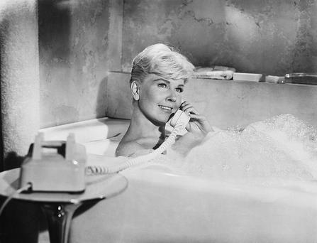 End of the line: Doris Day in Pillow Talk