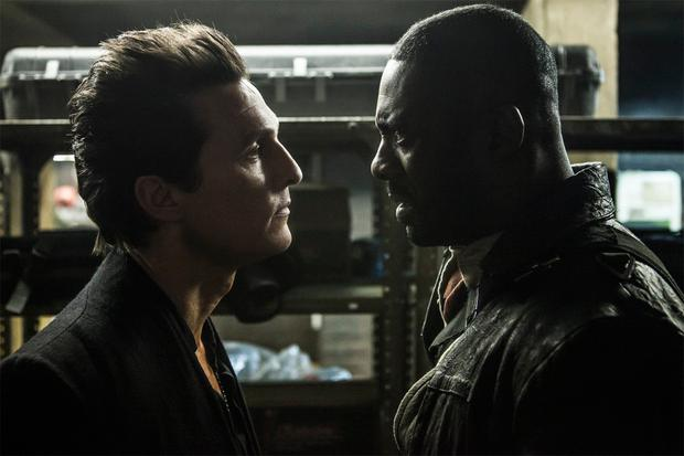 Idris Elba with Matthew McConaughey, who fails miserably as the villian