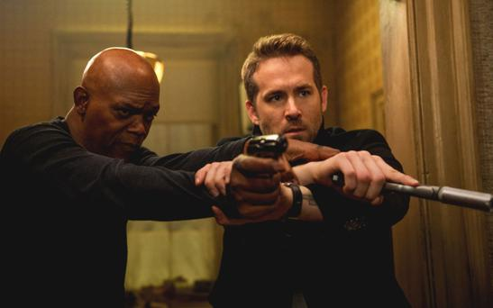 Firing blanks: Samuel L Jackson and Ryan Reynolds don't make a winning team