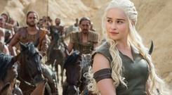 Leaky plots: Emilia Clarke as Daenerys Targaryen in HBO's Game of Thrones