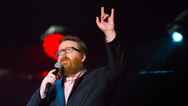 Frankie Boyle on stage (Dominic Lipinski/PA Archive/PA Images)