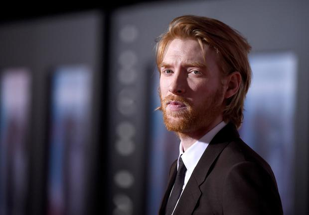 A chastening experience: Domhnall Gleeson felt he would drift into directing, not acting