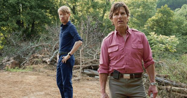 The drugs don't work: Domhnall Gleeson and Tom Cruise in American Made