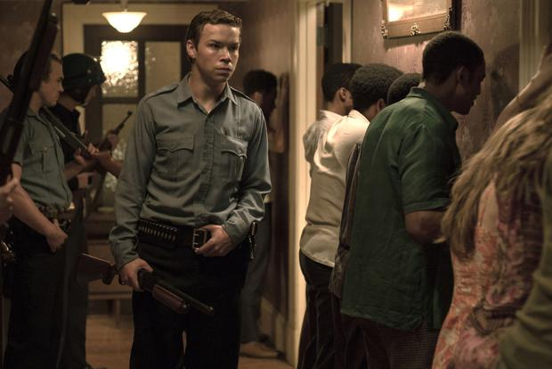 Trigger happy: Will Poulter plays a racist National Guard member in Detroit