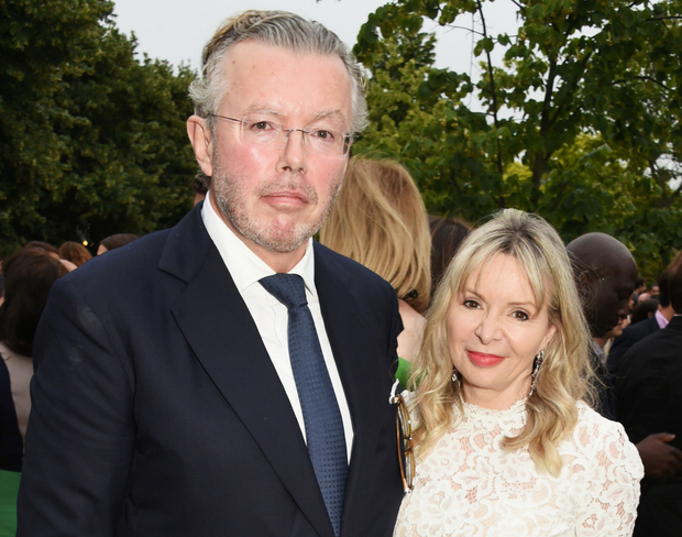 Moving on: Hans is now married to Julia Delves Broughton. Photo: Dave Benett/Getty Images