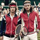 Rivals who became friends: Shia LaBeouf and Sverrir Gudnason in Borg/ McEnroe
