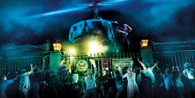 The special effects in Miss Saigon are spectacular