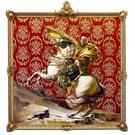 Napoleon Leading the Army Over the Alps by Kehinde Wiley