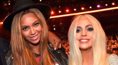 Poker face: Lady Gaga feels Beyonce looks down on her