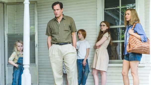 It's a family affair: Woody Harrelson and Naomi Watts in The Glass Castle