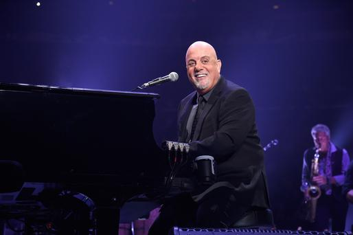 Billy Joel performs at Madison Square Garden on September 30, 2017 in New York City