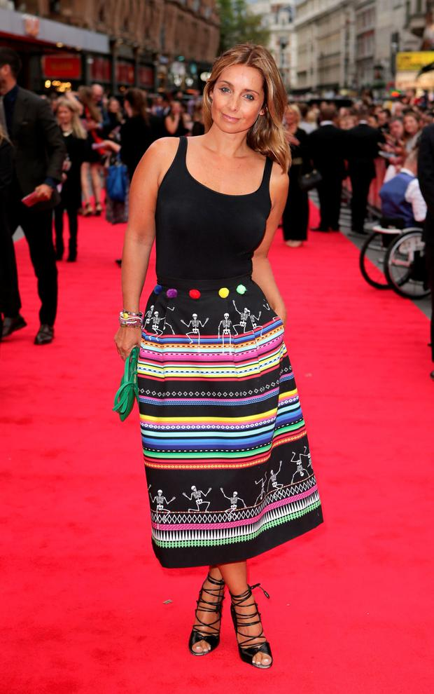 Red' alert: Louise Redknapp has gone back into showbusiness after growing tired of being a homemaker. Photo: PA
