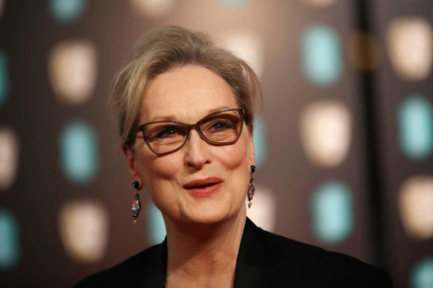 "High praise: Meryl Streep referred to Weinstein as ""God"" in 2012. Photo: AP"