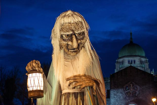 Immersive: Last year's Macnas parade in Galway. Photo: www.juliadunin.com