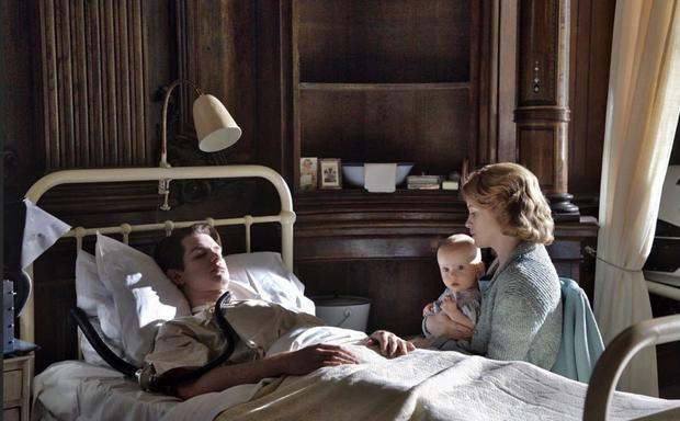 Fight for life: Andrew Garfield and Claire Foy in Breathe