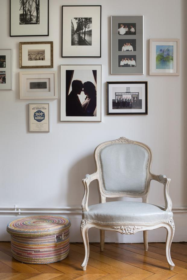 Aisling Greally likes to surround herself with style, and even ensures her work-desk area is pretty, with all black and white touches, including the mirror and floor lamp