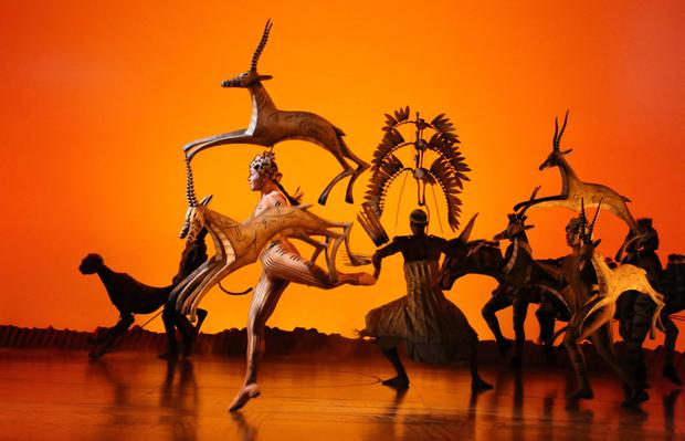 A roaring success: The Lion King Broadway show