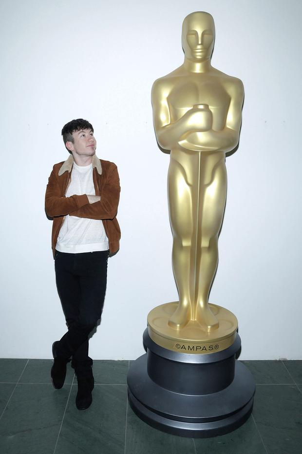 Looking to the future: Barry Keoghan has been tipped as one to watch