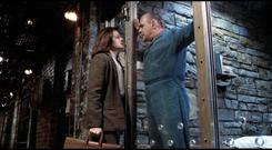 Anthony Hopkins and Jodie Foster share a creepily intimate moment in 'Silence of the Lambs'
