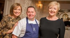 Mary Kennedy, Neven Maguire and Marian Finucane. Photo: James Connolly