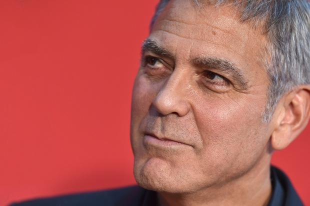 Speculation: Deposed as Hollywood's leading man, Clooney may now take at stab at becoming the US commander-in-chief