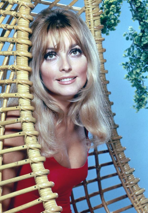 Actress Sharon Tate, who was eight months pregnant when she was murdered by Manson's gang.