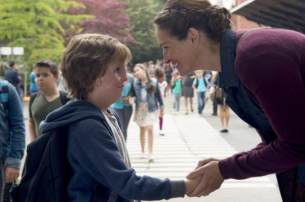 Wonder-ful: Jacob Tremblay and Julia Roberts in Wonder