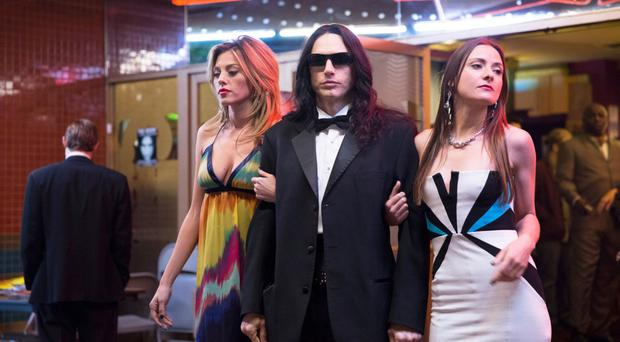 Artist's impression: James Franco plays a stroppy actor in The Disaster Artist