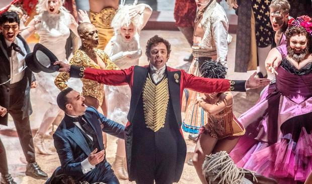 Centre stage: Hugh Jackman as PT Barnum in The Greatest Showman