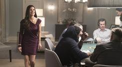 Ace High: Jessica Chastain impresses as Molly in Molly's Game